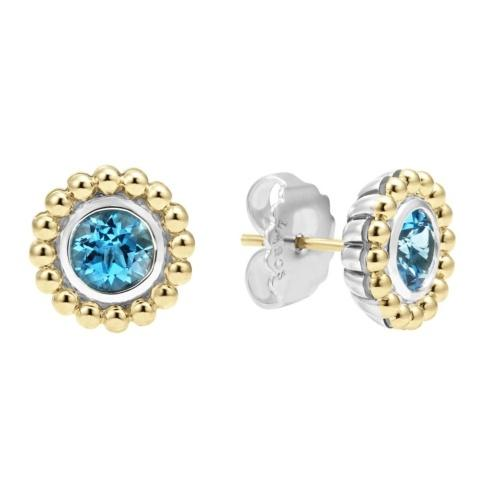 Retired Style! ONLY 1 LEFT! Swiss Blue Topaz Gemstone Earrings