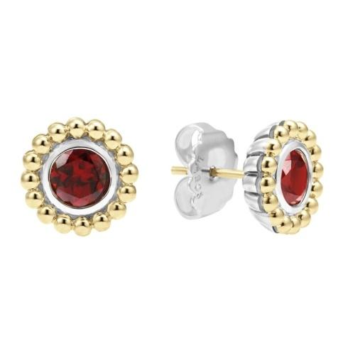 Retired Style! ONLY 1 LEFT! Garnet Gemstone Earrings
