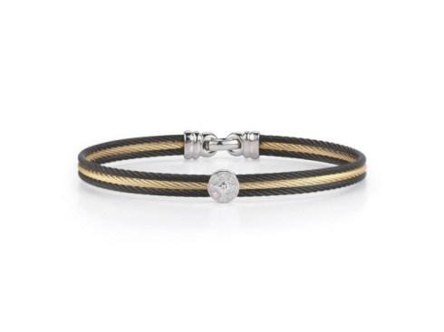 Bangle Bracelet with Diamonds