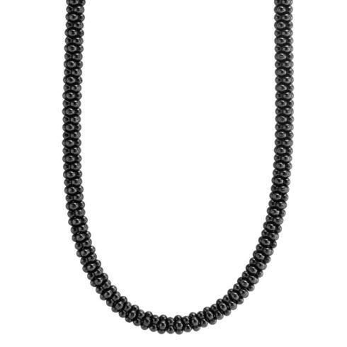Ceramic Black Caviar Necklace
