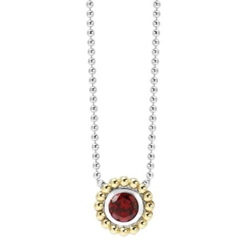 Retired Style! ONLY 1 LEFT! Garnet Gemstone Necklace
