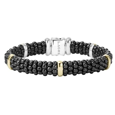 Caviar & Gold Bracelet