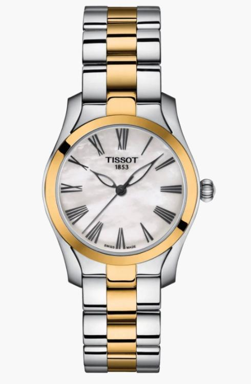 $332.00 TISSOT T-Wave Lds Two Tone Watch