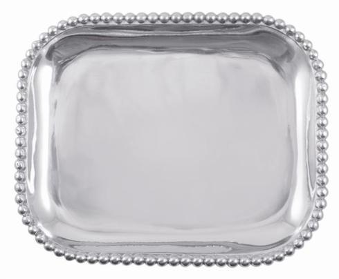 Mariposa  String of Pearls Rectangular Platter $98.00