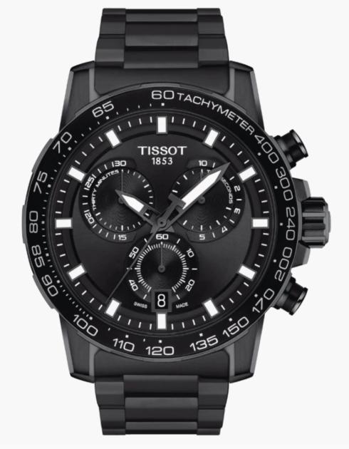 $396.00 TISSOT Supersport Chrono Black S/S