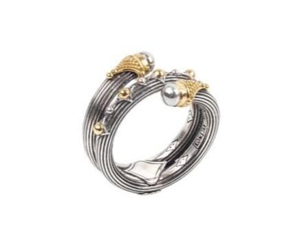 $420.00 Spike SG Curl Ring