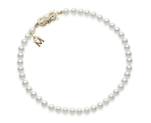 $1,207.50 Mikimoto Akoya Pearl Bracelet 7 x 7.5mm