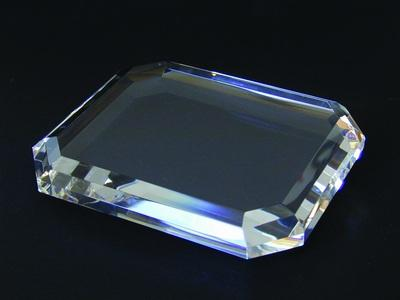 $58.50 BEVELED PAPERWEIGHT