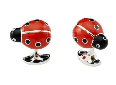$400.00 Ladybird Ladybug Cufflinks