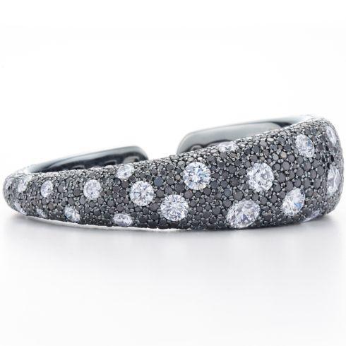 Pave' Diamond Bangle Bracelet