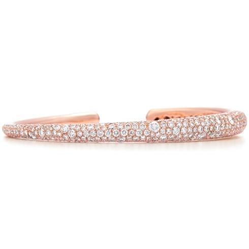 $15,100.00 Cobblestone Diamond Bangle Bracelet