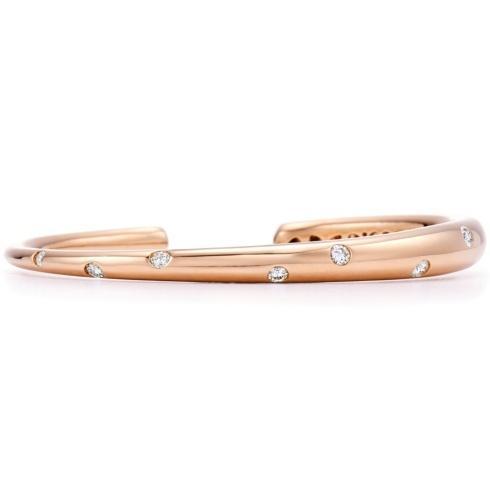 $5,900.00 Cobblestone Diamond Bangle Bracelet