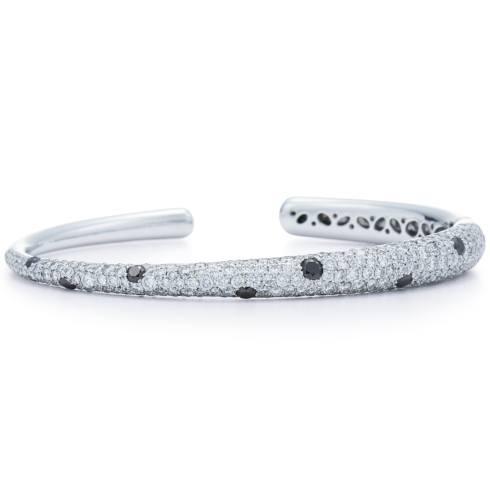 Diamond Cobblestone Bangle Bracelet