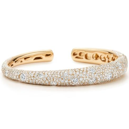 Cobblestone Diamond Bangle Bracelet