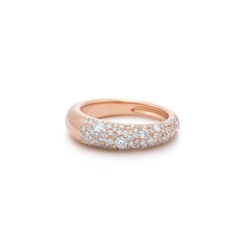 Rose Gold Diamond Pave' Ring