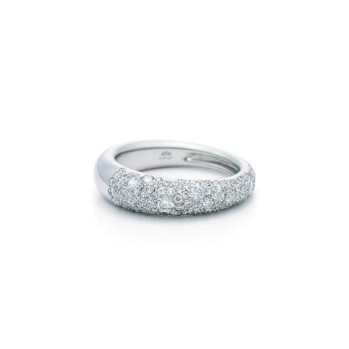 Pave Diamond Cobblestone Ring