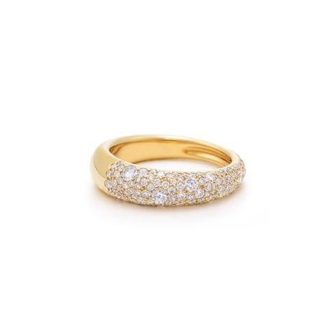 Pave' Diamond Ring