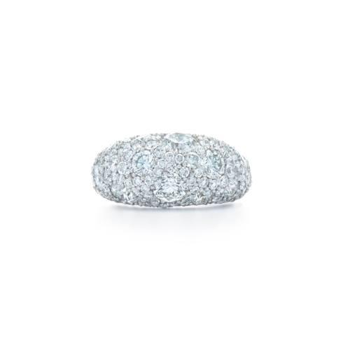 $24,500.00 Cobblestone Diamond Dome Ring