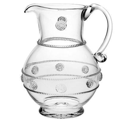 Juliska  Isabella Tulip Glassware Large Pitcher $175.00