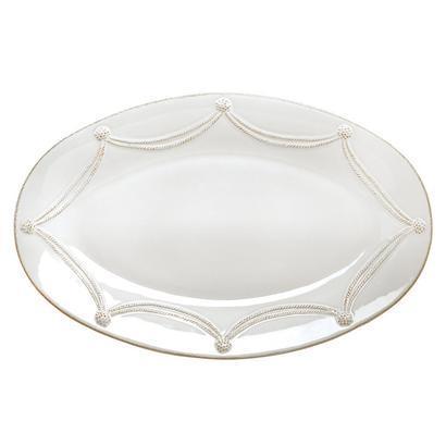 Juliska  Berry & Thread Whitewash Large Oval Platter $125.00