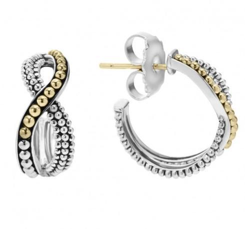 $280.00 INFINITY HOOP EARRINGS