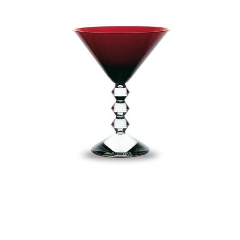 Red Martini Glass
