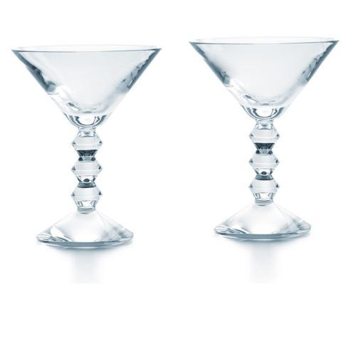 VÉGA MARTINI GLASS CLEAR PAIR