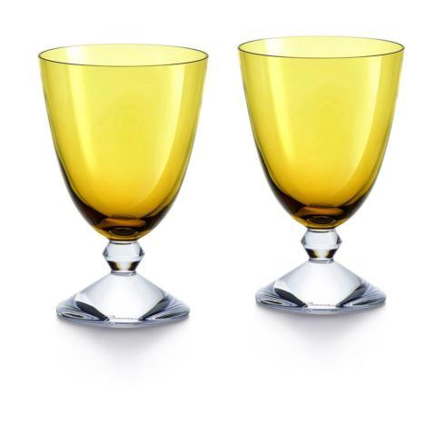 VÉGA GLASS SMALL AMBER PAIR