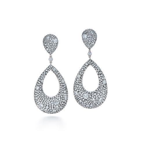 $83,800.00 18K White Gold Diamond Earrings