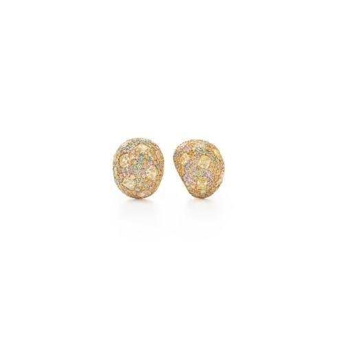 Natural Fancy Colored Diamond Earrings