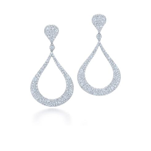$30,700.00 Cobblestone Diamond Earrings