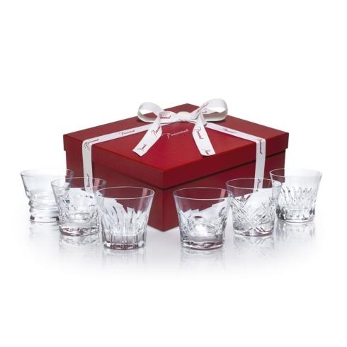 $450.00 Everyday Baccarat 6 Tumblers in Different Patterns