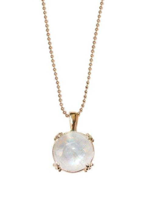 $1,850.00 Moonstone & Gold Necklace