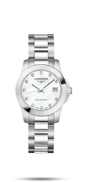 $1,225.00 CONQUEST 29.5mm MOP Diamond Dial