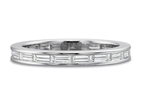 $10,000.00 Baguette Channel Set Eternity Ring