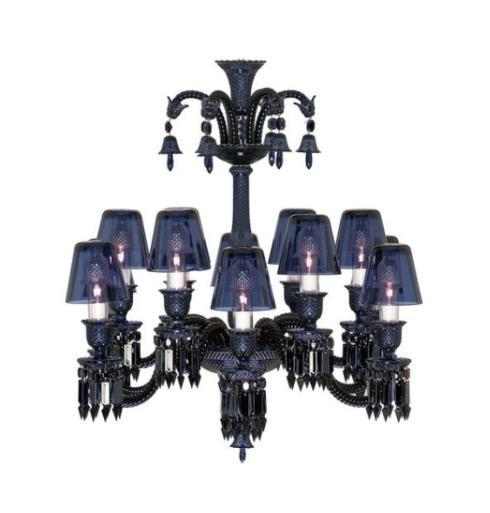 Baccarat lighting chandeliersceiling units tourbillon 1000000 zenith midnight chandelier with crystal lampshade 8 24 lights aloadofball Gallery