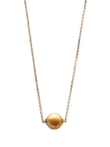 $1,430.00 SINGLE GOLDEN PEARL ON CHAIN