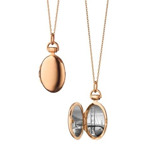 18k Rose Gold Petite Anna Locket