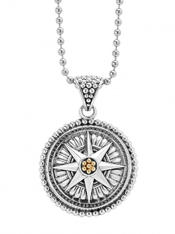 $476.00 COMPASS NECKLACE