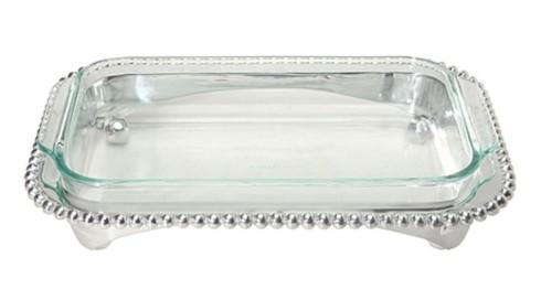 Mariposa  String of Pearls Oblong Casserole Stand $139.00