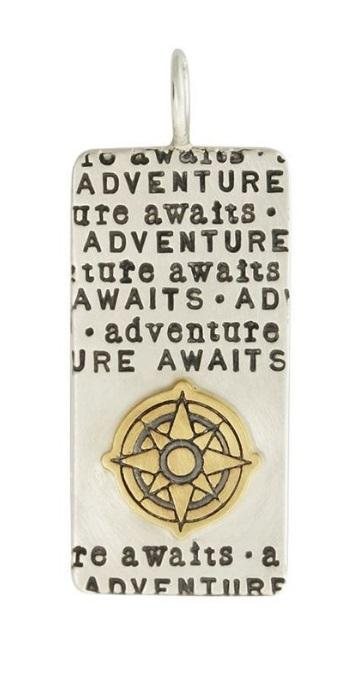 $625.00 Silver Adventure Awaits ID Tag