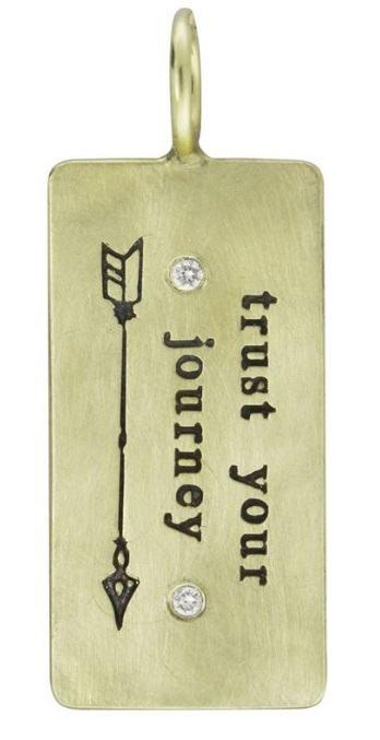 $860.00 Trust Your Journey ID Tag