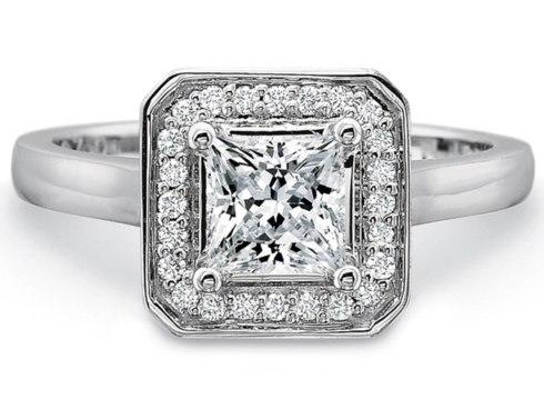 $10,000.00 Pave\' Top Semimount