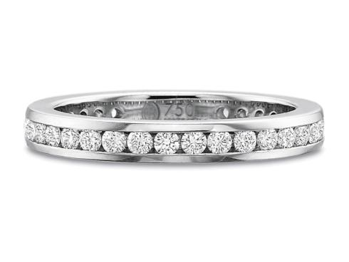 .75ctw Full Round Channel Set Diamond Band
