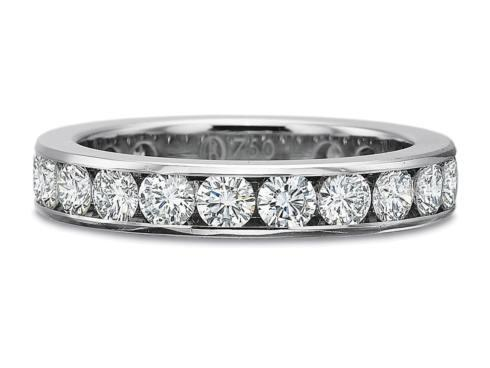 2ctw Full Round Channel Set Diamond Band