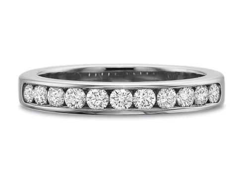 .50ctw Round Channel Set Diamond Band