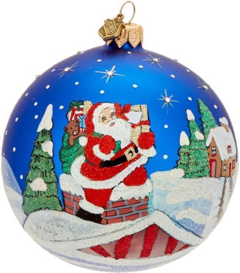 $49.97 ROOFTOP SANTA Ornament
