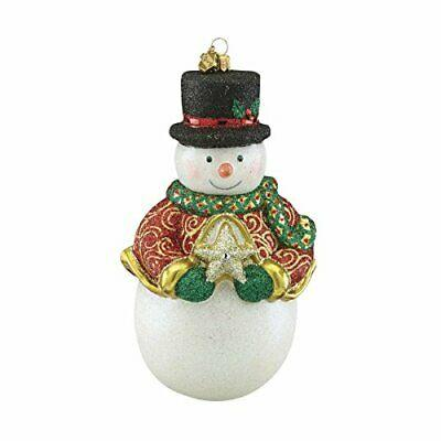 $49.97 SNOWMAN & STAR Ornament