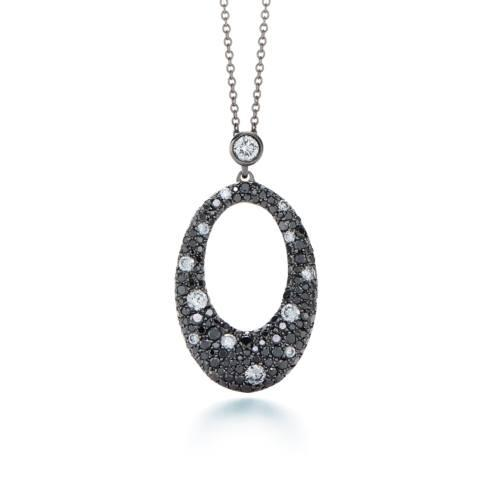 Cobblestone Diamond Pendant Necklace