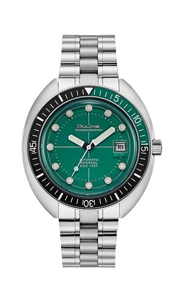 $596.25 Devil Diver Automatic Green Dial